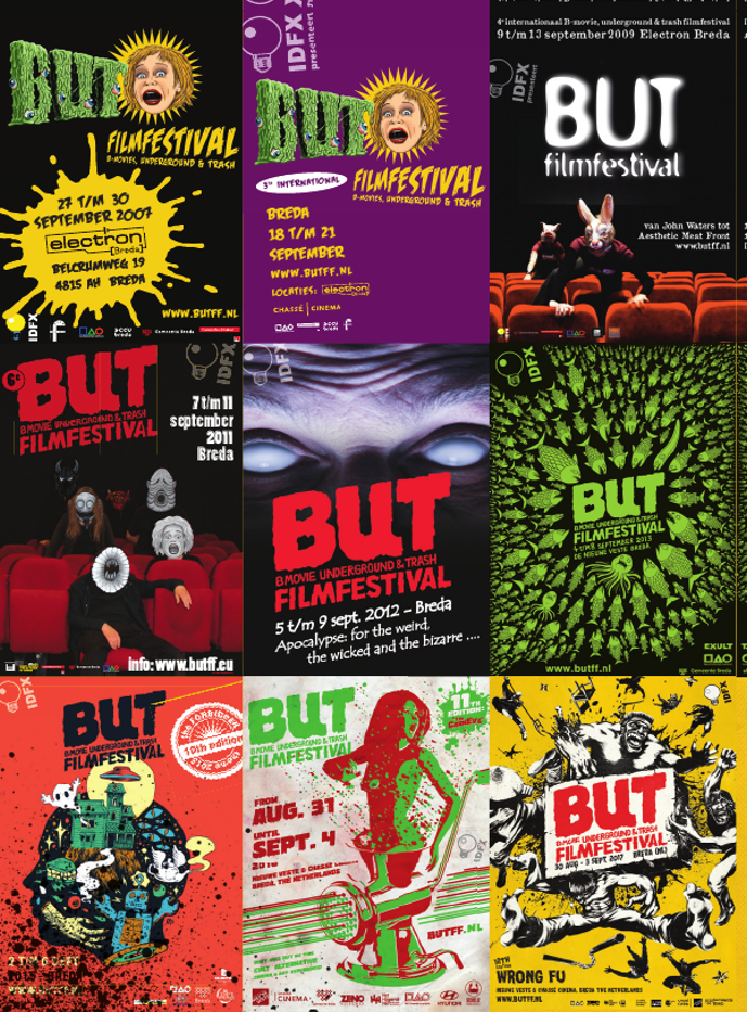 BUTFF POSTERS